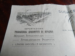 12.2) ITALIA ASTI VIA GIOBERT SAN MARZANOTTO SUGHERIFICIO SPAGNUOLO CAROSU 1914 - Italia