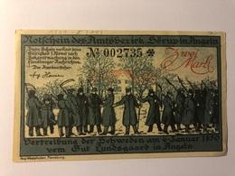 Allemagne Notgeld Sorup 2 Mark - Collections