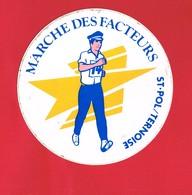 1 Autocollant   MARCHE DES FACTEURS ST POL SUR TERNOISE  Pas-de-Calais - Autocollants