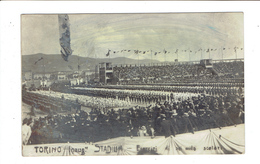 CP PHOTO ITALIE - INAUGURATION DU STADIUM DE TURIN DU 30 AVRIL 1911 - Stadiums & Sporting Infrastructures