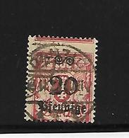 Danzig N° 167 Misperforatie - Besetzungen 1938-45
