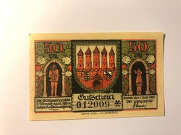 Allemagne Notgeld Zerbst 50 Pfennig - Collections