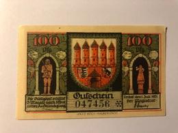 Allemagne Notgeld Zerbst 100 Pfennig - Collections