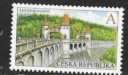 CZECH REPUBLIC, 2019, MNH, DAMS, FORESTS, 1v - Architecture