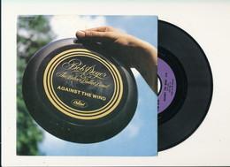 """BOB SEGER """" AGAINST THE WIND """" Disque CAPITOL 1980    TRES BON ETAT !! - Rock"""