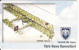 TURKEY(chip) - Airplane, Caproni 1923-23 1(50 Units), Used - Turquia