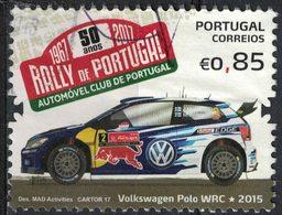 Portugal 2017 Oblitéré Used Rally Du Portugal Rallye Voiture Volkswagen Polo WRC SU - 1910-... République