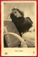 MOVIE STAR SIMONE SIMON # 2826 VINTAGE PHOTO PC. PUBLISHER LATVIA 511 - Actors