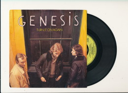 "GENESIS "" TURN IT ON AGAIN "" Disque CHARISMA 1980    TRES BON ETAT !! - Rock"