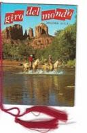 Calendarietto GIRO DEL MONDO ZODIACO 1973 - Calendari