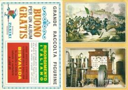 RISORGIMENTO ITALIANO ED.  PANINI  BUONO ALBUM-FIGURINE NUOVE - Edizione Italiana