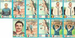 11 Figurine OLYMPIA 72 PANINI - Edizione Italiana