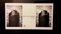 BULGARI Man In Black Parfum Carte - Perfume Cards
