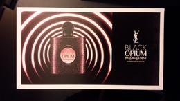 Yves Saint Lauren Black Opium Parfum Carte - Perfume Cards