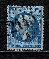 France 1862 Yv. 22   Obl. GC 2145  Lyon - 1862 Napoléon III