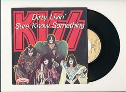 """KISS """" DIRTY LIVIN """" Disque CASABLANCA 1979    TRES BON ETAT !! - Rock"""