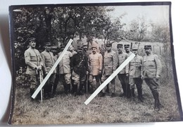 1916 Officiers 128 Eme Régiment D'infanterie Tranchée Poilus 1914 1918 WW - War, Military