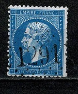 France 1862 Yv. 22   Obl. GC 1291  Denain - 1862 Napoléon III