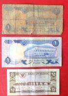 Billet. 4. Soudan. 3 Billets Diifferents - Sudan