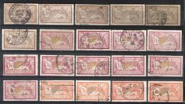 FRANCE Nice Accumulation Of Great Format Stamps Cancelled - Frankrijk