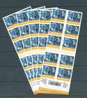 Belgique Belgïe Carnet Boekje 98 X 5 (50 X N° 1 Monde) Prix Poste Postprijs 81 € - Carnets 1953-....