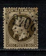 France 1867 Yv. 30   Obl. 2046 Lille Quartier Pl. St Martin - 1863-1870 Napoléon III Lauré