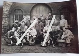 1930 Mitrailleuses Hotchkiss Alimentation Bandes Articulée Légion étrangère 23 E 41 Eme Régiment D'infanterie Coloniale - War, Military