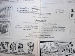 1947/48-JAVOTTE-CHOREGRAPHIE PROGRAMME OPÉRA De LYON-SPECTACLE-PHOTOS ARTISTE COMÉDIENS -ACTEURS-DANSE-PUBLICITÉ - Programmes