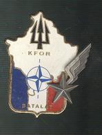 Insigne De Campagne - Batalat - Kfor - Pichard Balme Saumur - France