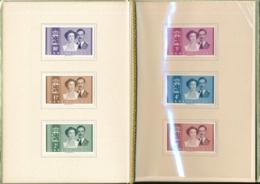 Belgien - Courvoisier Vorlageheft  505-510 - Documents De La Poste