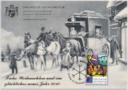 Lichtenstein - 2009 - Geschenkkarte - Zumstein 1483 / Michel 1539 - Liechtenstein
