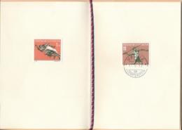 Lichtenstein - Sportserie III - Geschenkheft - Zumstein 286-289 / Michel 342-345 - Liechtenstein