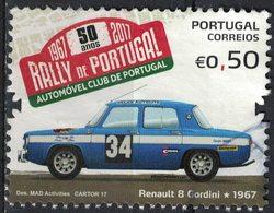 Portugal 2017 Oblitéré Used Rally Du Portugal Rallye Voiture Renault 8 Gordini SU - 1910-... République