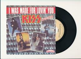 "KISS "" I WAS MADE FOR LOVIN YOU "" Disque CASABLANCA 1979    TRES BON ETAT !! - Rock"