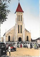 CPA-1955-DJIBOUTI-L EGLISE ST JEANNE D ARC-TBE - Dahomey