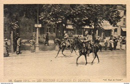 GUERRE 1914- 1918  WW1  Les Premiers Allemands En Belgique  … - Guerre 1914-18