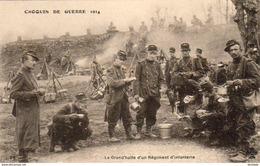 GUERRE 1914- 1918  WW1  La Grand' Halle D' Un Régiment D' Infanterie  ... - Guerre 1914-18