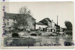 - CHATEAUNEUF - ( Charente ), L'Usine,  Petit Format, Peu Courante, écrite, 1944, Glacée, Timbres, TBE, Scans. - Francia