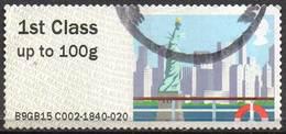 GREAT BRITAIN 2015 Post & Go: Sea Travel. New York City - Great Britain
