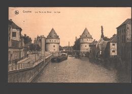Kortrijk / Courtrai - Les Tours Du Broel - La Lys - Boot / Bateau - Kortrijk