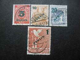 ALLEMAGNE BERLIN Série N°47 Au 50 Oblitéré Cote 50€ - Stamps