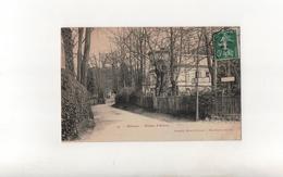 Le Plessis-Robinson En 1908..Donjon D'Aulnay..Oblitération Convoyeur..Voir Scan - Le Plessis Robinson