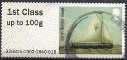 GREAT BRITAIN 2015 Post & Go: Working Sail. Harry (Humber Sloop) - Great Britain