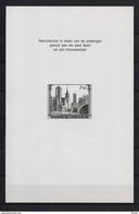 ZNP 4 STAD GENT  ZWART WIT VELLETJE 1972 (nl) - Feuillets Noir & Blanc