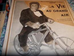 ANIMAUX EN AUTO /CHUTE LEBAUDY /GORDON BENNETT/MARCEL BOULANGER /LUTTE CEINTURE OR /DE LA VAULX/CHASSELOUP LAUBAT - 1900 - 1949