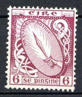 IRLANDE - (Etat Libre) - 1922-24 - N° 48 - 6 P. Violet-brun - (Glaive De Lumière) - 1922-37 Stato Libero D'Irlanda