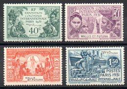 WALLIS ET FUTUNA - YT N° 66 à 69 - Neufs ** (sauf 66 *) - Cote: 62,40 € - Wallis-Et-Futuna