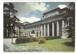 Spagna Spain España Madrid Museo Del Prado. Portada Principal Non Viaggiata Condizioni Come Da Scansione - Madrid