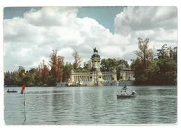 Spagna Spain España Madrid Parque Del Retiro. Estanque  Non Viaggiata Condizioni Come Da Scansione - Madrid
