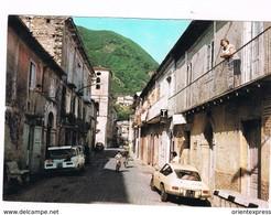 Irpinia 2 Cartoline Provincia Avellino  Animate Con Auto D' Epoca  Calabritto E Pietrastornina Anni 60/70 - Avellino